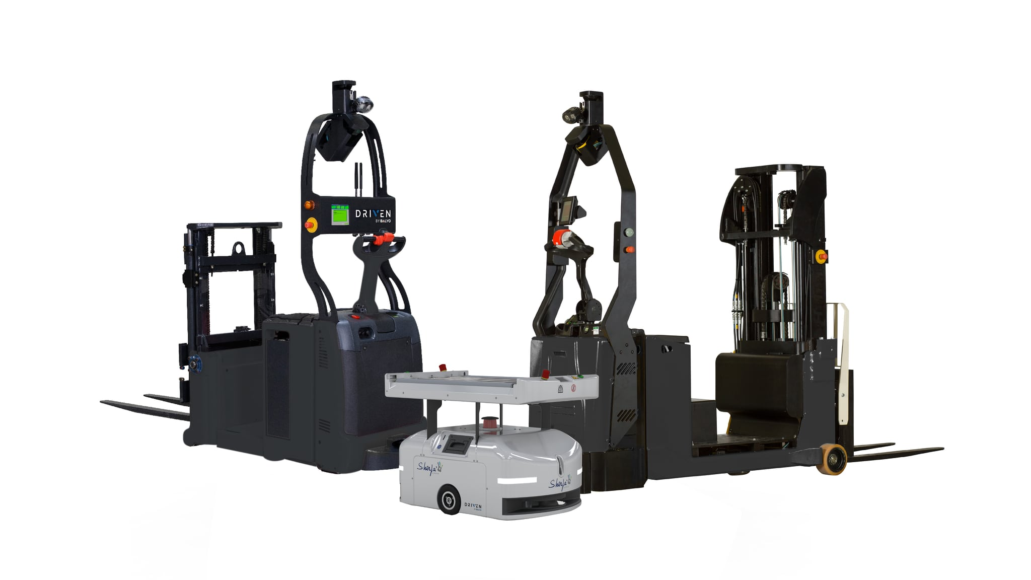 Autonomous Lift Trucks & Robots (AGV-AMR) by Balyo